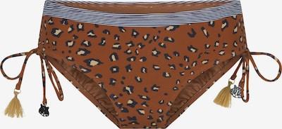 LingaDore Bikinibroek in de kleur Beige / Bruin / Zwart, Productweergave