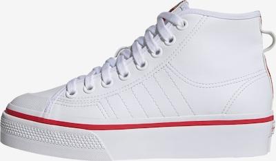 Sneaker înalt 'Nizza' ADIDAS ORIGINALS pe roșu deschis / alb, Vizualizare produs