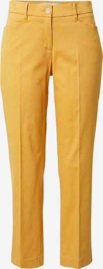 BRAX Pantalon à plis 'MARA' en jaune, Vue avec produit