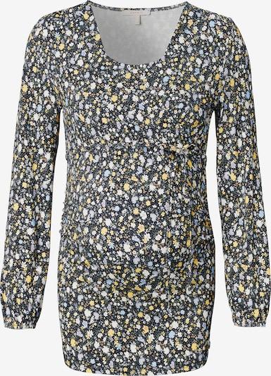 Esprit Maternity Shirt in de kleur Blauw / Geel / Zwart / Wit, Productweergave