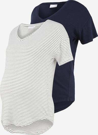 Maglietta 'Alison' MAMALICIOUS di colore navy / bianco, Visualizzazione prodotti