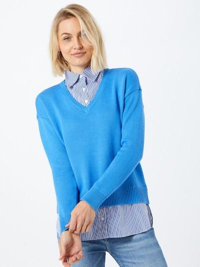 Lauren Ralph Lauren Pullover 'PERDYTA' in blau / weiß, Modelansicht