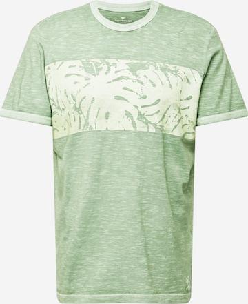 TOM TAILOR T-Shirt in Grün