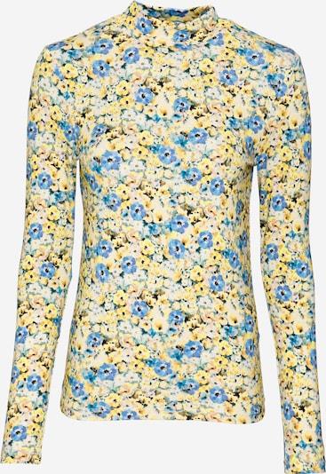 Rich & Royal T-shirt en bleu / jaune / blanc, Vue avec produit