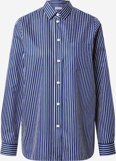 Bluză SEIDENSTICKER pe albastru închis / alb, Vizualizare produs
