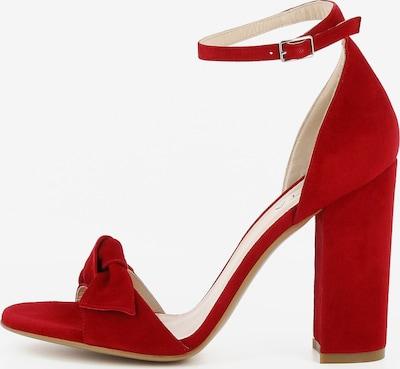 EVITA Damen Sandalette EVA in rot, Produktansicht