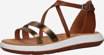 CLARKS Sandales à lanières 'Jemsa Strap' en marron, Vue avec produit