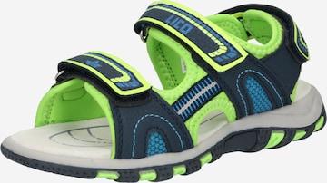 LICO Sandale 'LUCA' in Blau