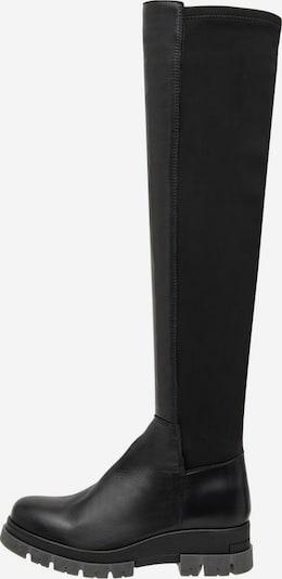 Bianco Laarzen 'Devina' in de kleur Zwart, Productweergave