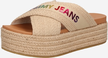 Tommy Jeans Pantolette in Beige