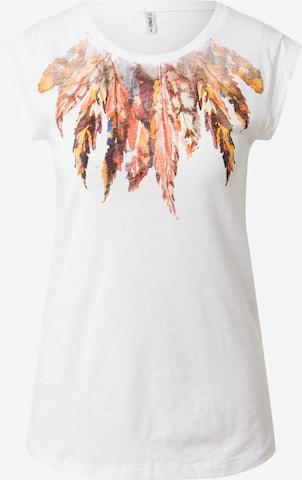 ONLY Shirt 'BONE' in White