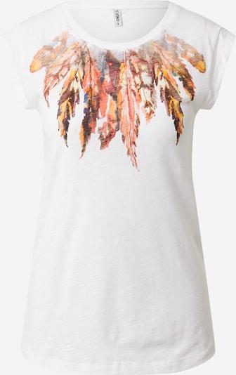 ONLY Tričko 'BONE' - zmiešané farby / biela, Produkt