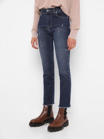 Scalpers Jeans 'Splash' in Blauw