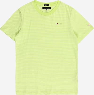 TOMMY HILFIGER T-Shirt in zitrone / weiß, Produktansicht