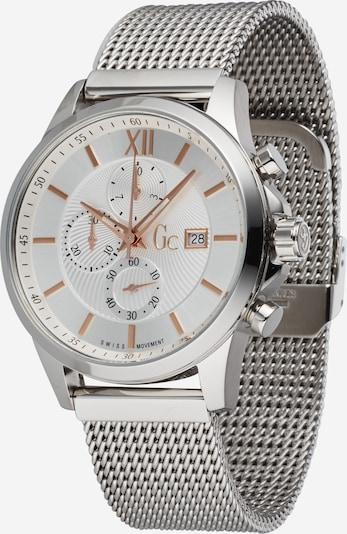Analoginis (įprasto dizaino) laikrodis iš Gc , spalva - sidabrinė / balta, Prekių apžvalga