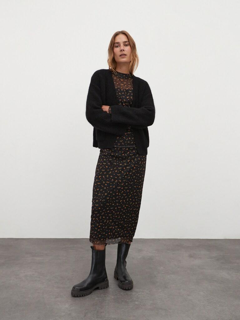 Gebreid vest 'Henriette'