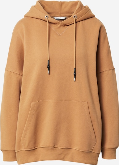 ONLY Sweatshirt in braun, Produktansicht