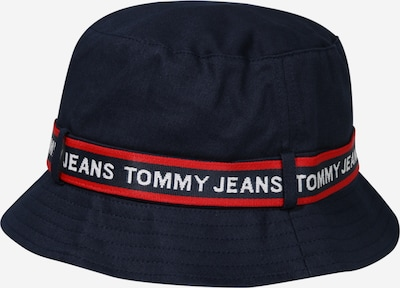 Tommy Jeans Hoed in de kleur Nachtblauw / Rood, Productweergave