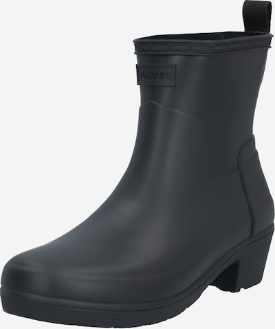 HUNTER Rubber boot in Black, Item view