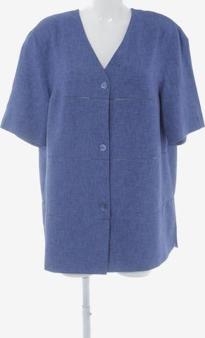 ARA Kurzarm-Bluse in XXL in Blau