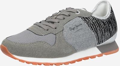 Pepe Jeans Sneaker 'VERONA' in grau / schwarzmeliert, Produktansicht