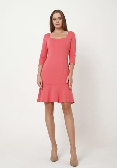 Madam-T Kleid 'MADJERA' in rot, Modelansicht
