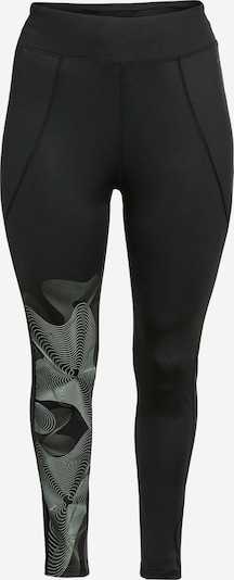 SHEEGO Sports trousers in Grey / Black / White, Item view