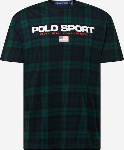 Polo Ralph Lauren T-Shirt in dunkelgrün / rot / schwarz, Produktansicht