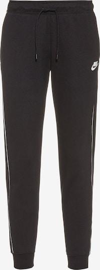 Nike Sportswear Pants in Black / White, Item view