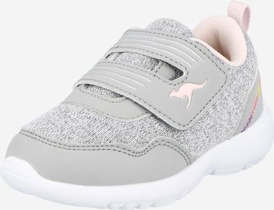 KangaROOS Sneaker 'Tinkle V' in grau / graumeliert / pink, Produktansicht