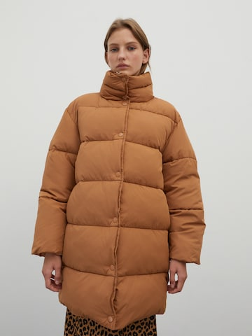 EDITED Winter Coat 'Monta' in Brown