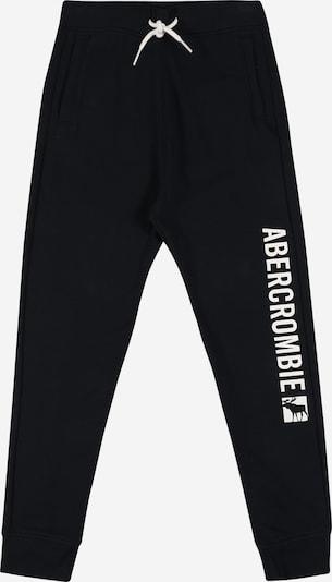 Abercrombie & Fitch Pantalón en navy / blanco, Vista del producto