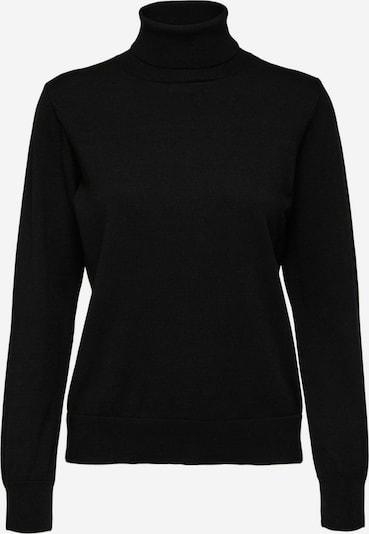 Selected Femme Petite Pull-over 'Nyla' en noir, Vue avec produit