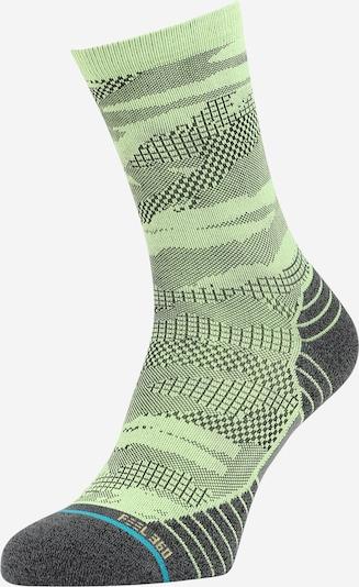 Stance Sportsocken in blau / hellgrün / schwarz, Produktansicht