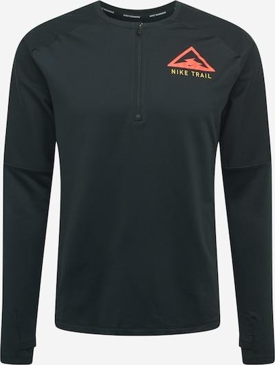 NIKE Camiseta funcional 'Trail' en amarillo / rojo claro / negro, Vista del producto