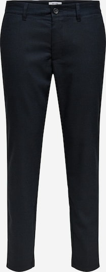 Only & Sons Chino in de kleur Navy / Donkerblauw, Productweergave