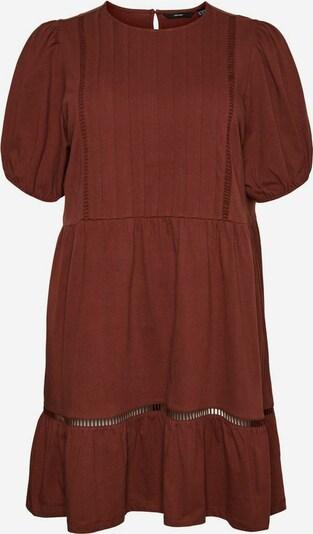 Vero Moda Curve Kleid in kastanienbraun, Produktansicht