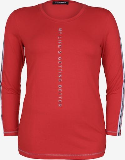 Doris Streich Shirt mit Glitzerdetails in rot, Produktansicht
