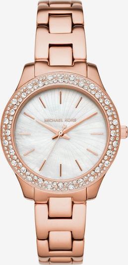 Michael Kors Uhr in rosegold / weiß, Produktansicht