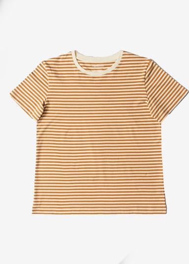 Organic Basics T-Shirt ' Organic Cotton Tee ' in beige, Produktansicht