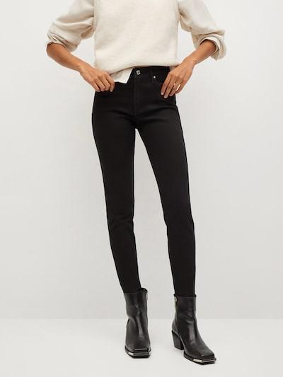 MANGO Jeans 'ELSA' in schwarz, Modelansicht