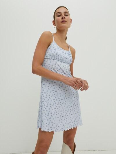 EDITED Kleid 'Tiana' in blau / mischfarben, Modelansicht