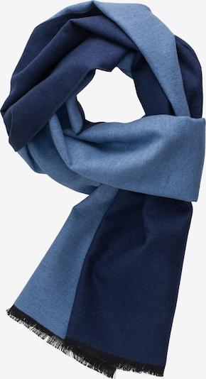 ETERNA Schal in taubenblau / dunkelblau / mischfarben, Produktansicht