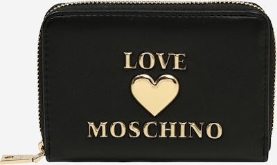 Love Moschino Portemonnaie in gold / schwarz, Produktansicht