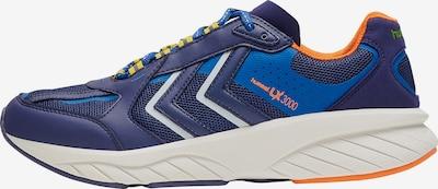Hummel Sneakers laag in de kleur Blauw / Sinaasappel, Productweergave