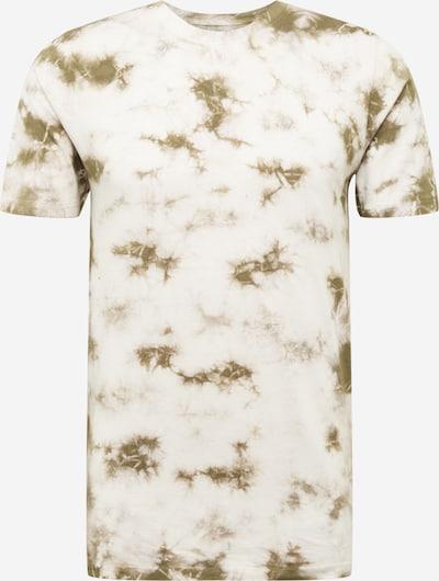 SHINE ORIGINAL T-Shirt in khaki / weiß, Produktansicht