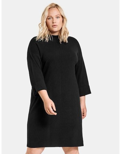 SAMOON Strickkleid in schwarz, Modelansicht