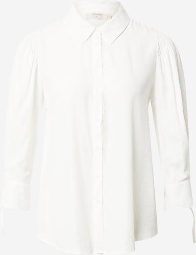 Cream Blouse 'Mily' in de kleur Wit, Productweergave