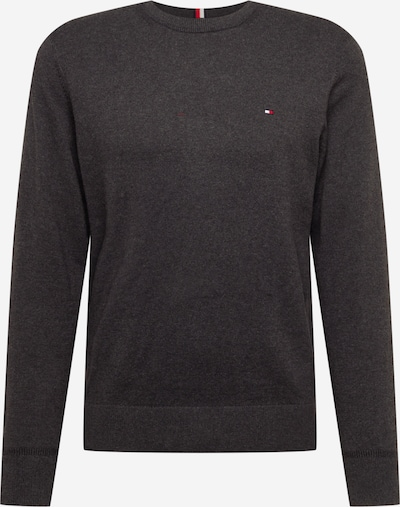TOMMY HILFIGER Sweater in Navy / Anthracite / Red / White, Item view