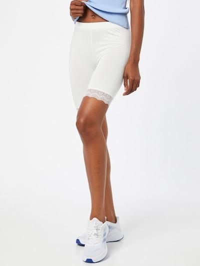 Leggings Noa Noa pe alb, Vizualizare model